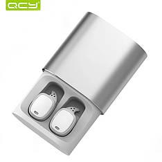 Бездротові навушники (гарнітура) QCY T1 Pro White