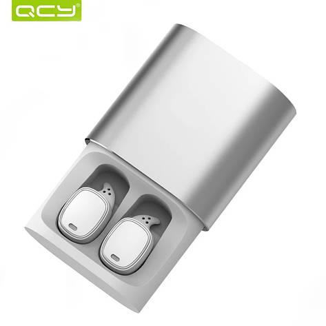 Бездротові навушники (гарнітура) QCY T1 Pro White, фото 2