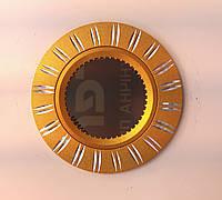 Светильник точечный встраиваемый Feron GS-M393 GU5.3 МR-16 потолочный золото, фото 1