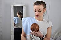 Полотенце для гигиены новорожденного, Голубая вязь, фото 1