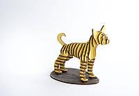 3D модель дерев'яна Собачка
