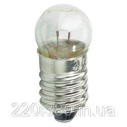 Лампа к фонарику МН 6V 0.30A E10/13