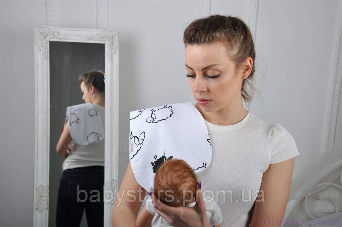 Полотенце для гигиены новорожденного, Овечки
