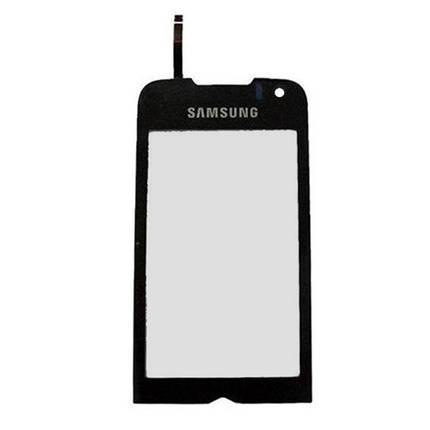 Сенсор, сенсорное стекло samsung S8000, S8003 чёрный AAA, фото 2