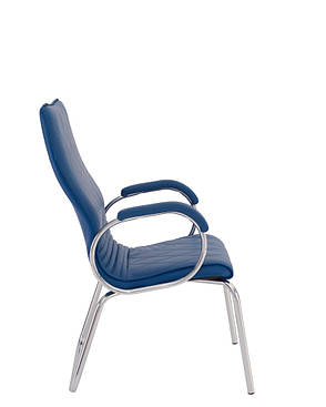 Кресло конференционное ALLEGRO steel CFA LB chrome, фото 2