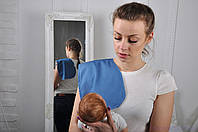 Полотенце для гигиены новорожденного, Джинс, фото 1