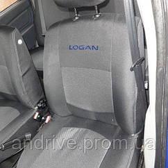 Авточехлы Dacia Logan MCV 5 мест с 2006 г (цельный диван)