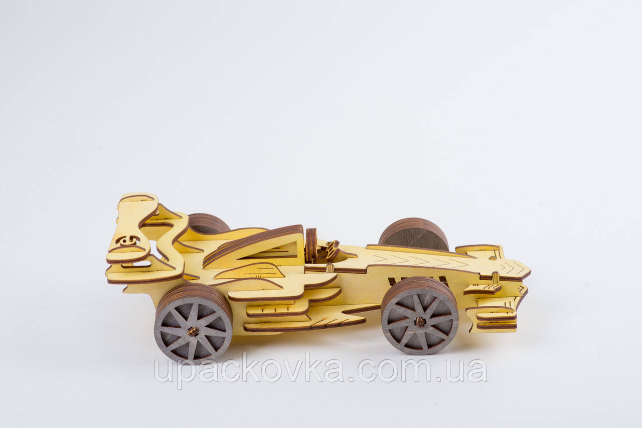 3D модель деревянная Формула Кар