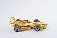 3D модель дерев'яна Формула Кар