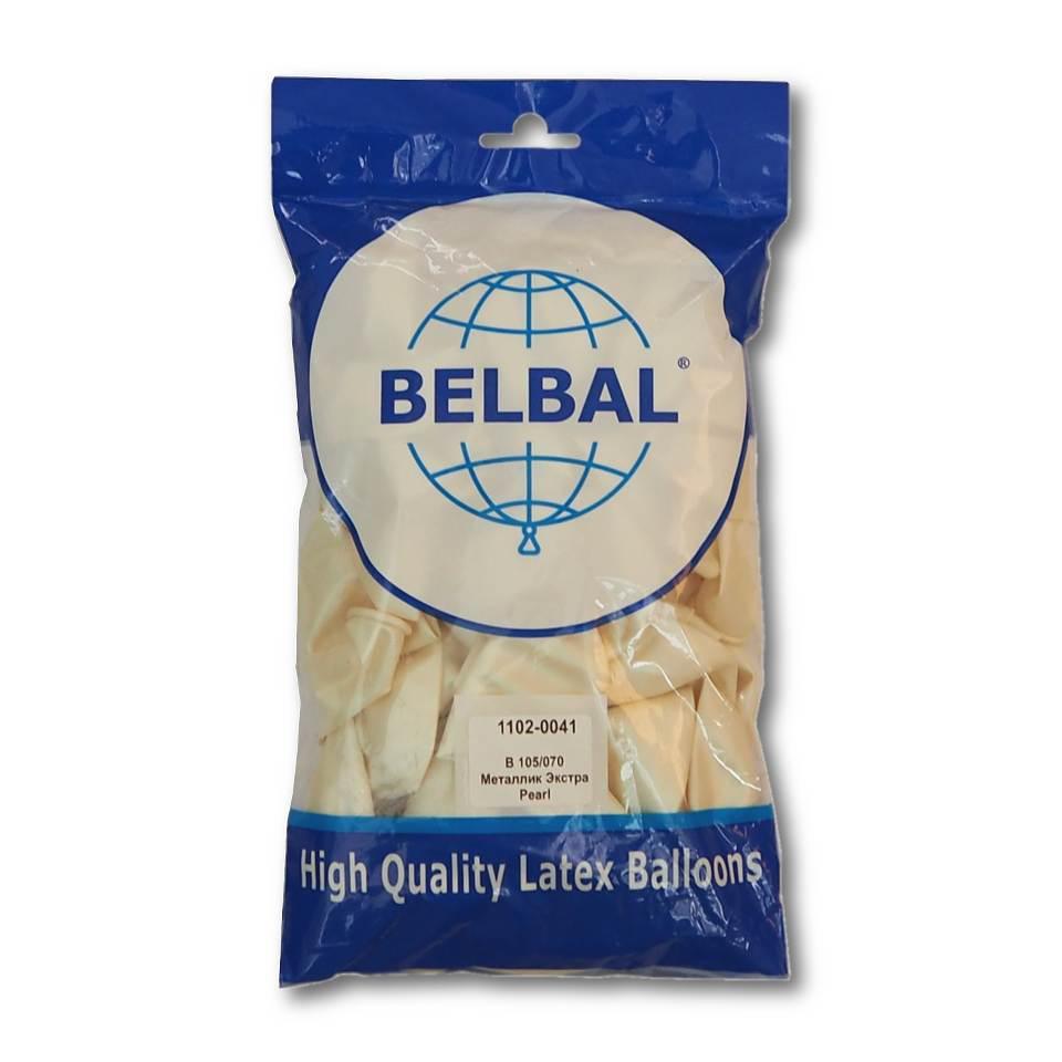"""Перламутровый 12""""(30 см) Belbal (упаковка 50 шт)"""