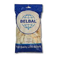 """Воздушные шары Belbal металлик 12""""(30 см) перламутровый 50 шт, фото 1"""