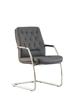 Кресло конференционное CHESTER steel CF LB chrome, фото 2