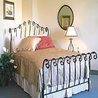 Кровать кованая 21