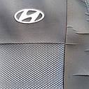Авточехлы Hyundai Accent (раздельный диван) с 2017 г, фото 2