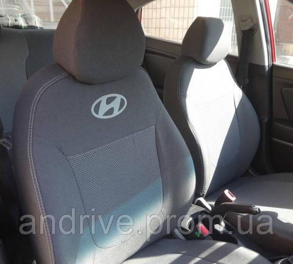Авточехлы Hyundai Getz (цельный диван) с 2002 г