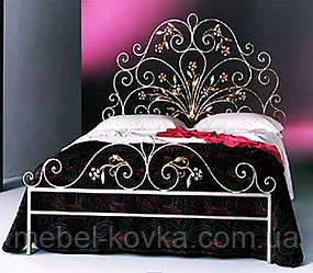 Кровать кованая 43