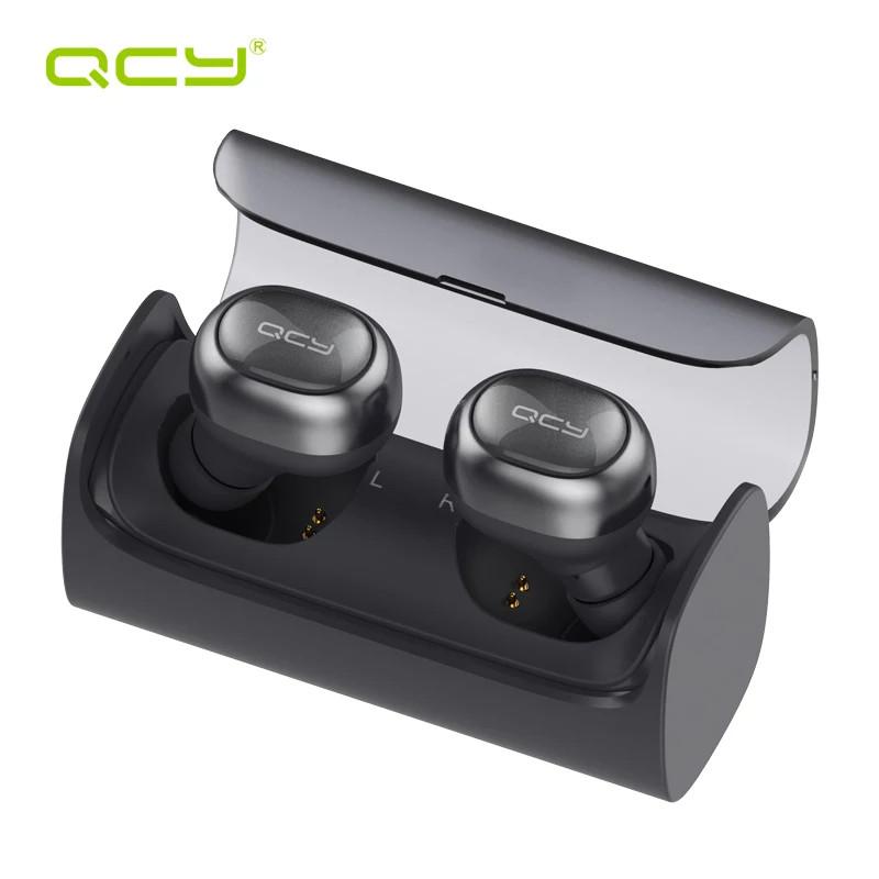 Бездротові навушники (гарнітура) QCY Q29 Dark Gray