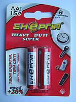 Батарейки Энергия R6 (HEAVY DUTY), АА