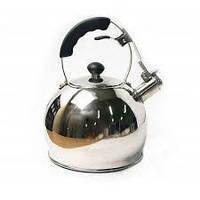 Чайник металл. со свистком FRICO FRU-760, 3 л.