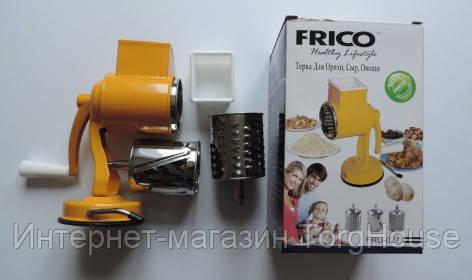 Терка ручная FRICO FRU-027 (орехи, сыр овощи)