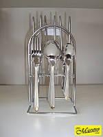 Набор столовых предметов на стойке (24 пр.) Maestro MR-1528, фото 1
