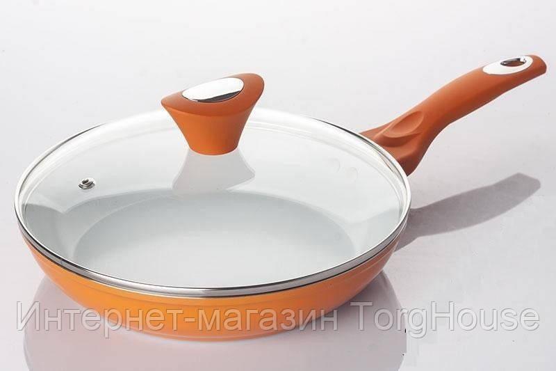 Сковорода керамика Maestro MR-1209-28 см