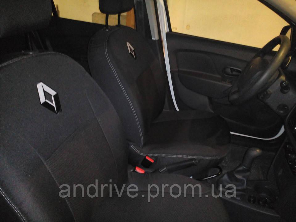 Авточехлы Renault Lodgy 5 мест с 2012 г