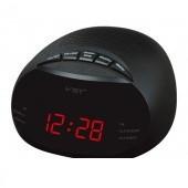 Радио-будильник VST-901-1, красный дисплей