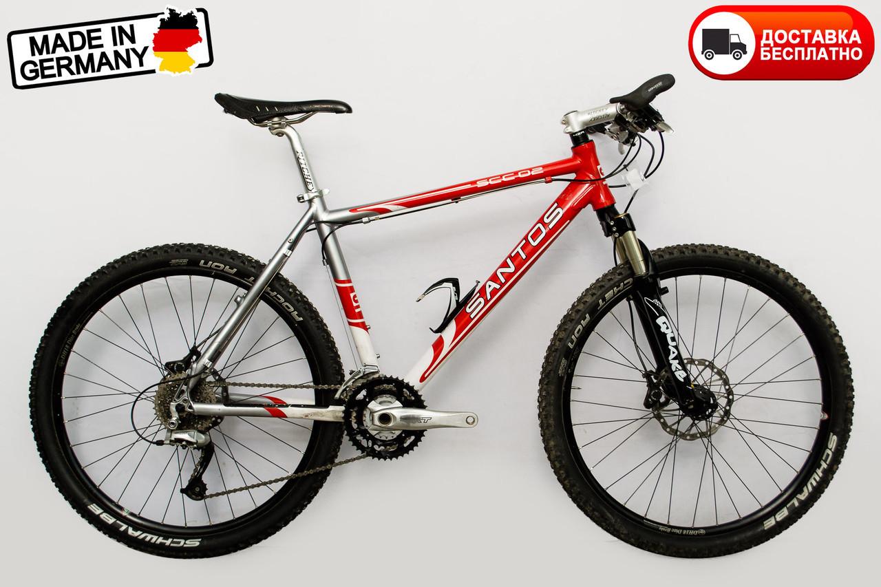 Велосипед Santos червоний АКЦИЯ -30%