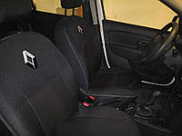 Авточехлы Renault Sandero с 2013 (раздельный диван)