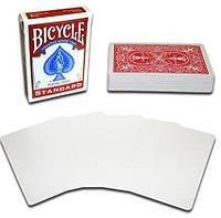 Карты для фокусов Bicycle Blank Face Red (5 штук)