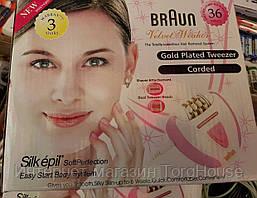 Эпилятор BRAUN 5079 (2 в 1) с бритвенной насадкой (Германия)