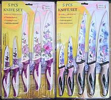 Набор кухонных ножей 5 шт. с керамическим покрытием FRICO FRU-913