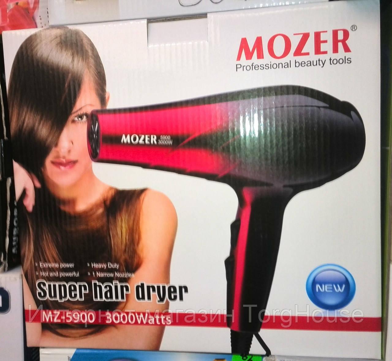 Профессиональный фен для волос MOZER MZ-5900 (3000W)