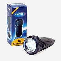 Фонарик КОСМОС (LED) аккумулятор 3.7v 18650, фото 1