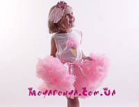Юбка пачка для девочек Розовая