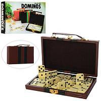Домино в чемодане, в кор. 20*13*3,5см (72шт)
