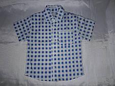 Рубашка детская на мальчика клетка