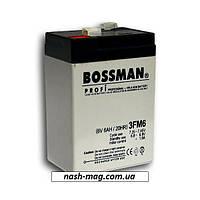 Аккумулятор Bossman Profi (3FM6) 6V 6AH