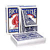 Трюковые карты Bicycle Double Back Blue 5 штук