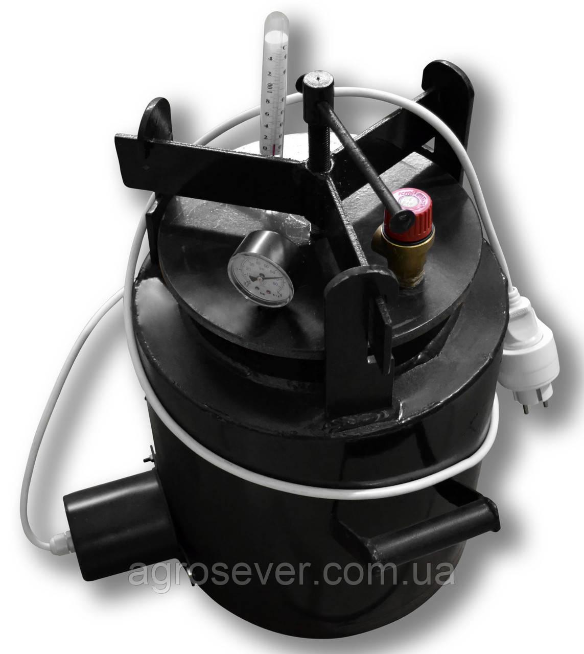 Автоклав ЧЕ-16 electro (Универсальный)(7 литровых или 16 пол литровых банок!)