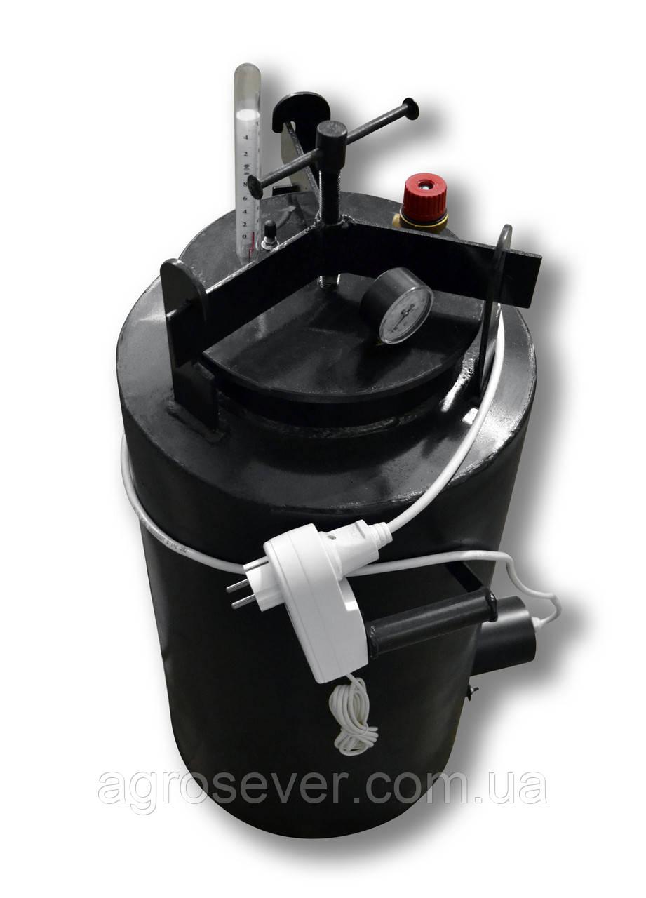 Автоклав ЧЕ-33 electro (Универсальный)24 литровых или 33 пол литровых банки!