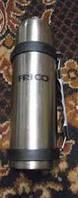 Термос металл. FRICO FRU-224, 1000 мл. с ручкой