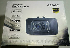 Видеорегистратор Car Camcorder GS8000L Full HD