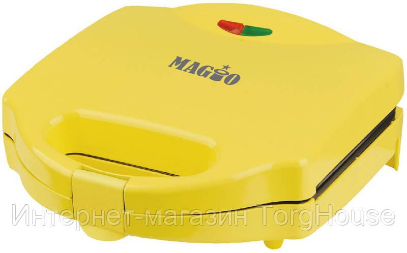 Вафельница-орешница MAGIO МG-391, 750Вт, антипригар.