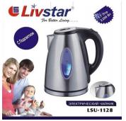 Электрочайник LIVSTAR LSU-1128, 2 л. (нерж. сталь) подсветка