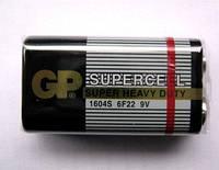Батарейка GP 1604S-S1 Supercell 6F22, 9V, крона