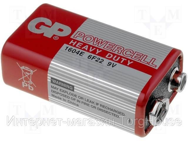 Батарейки GP Крона (красный)