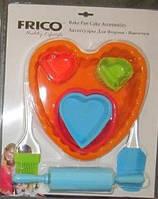 Формы для выпечки и аксессуары (силикон) FRICO FRU-889