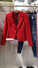 Жіночий піджак Ake Італія червоний